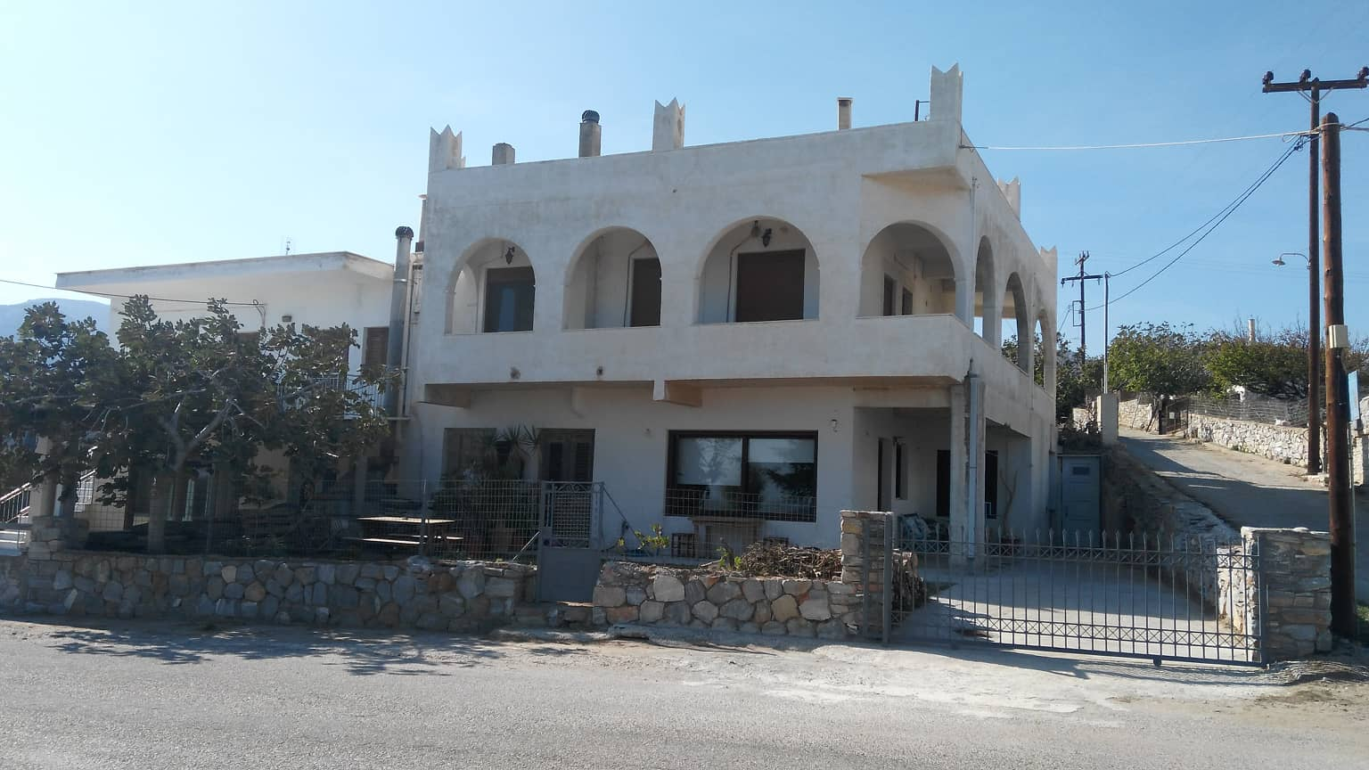 Naxos Beach Front House – 2 Bedrooms House