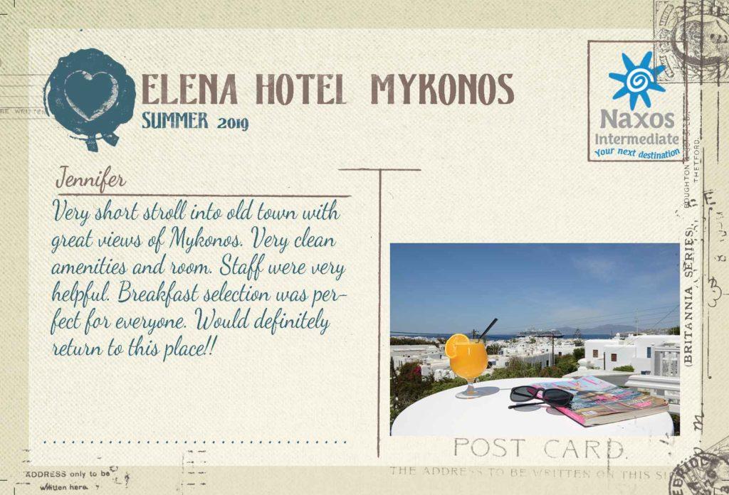 MYKONOS- Elena Hotel