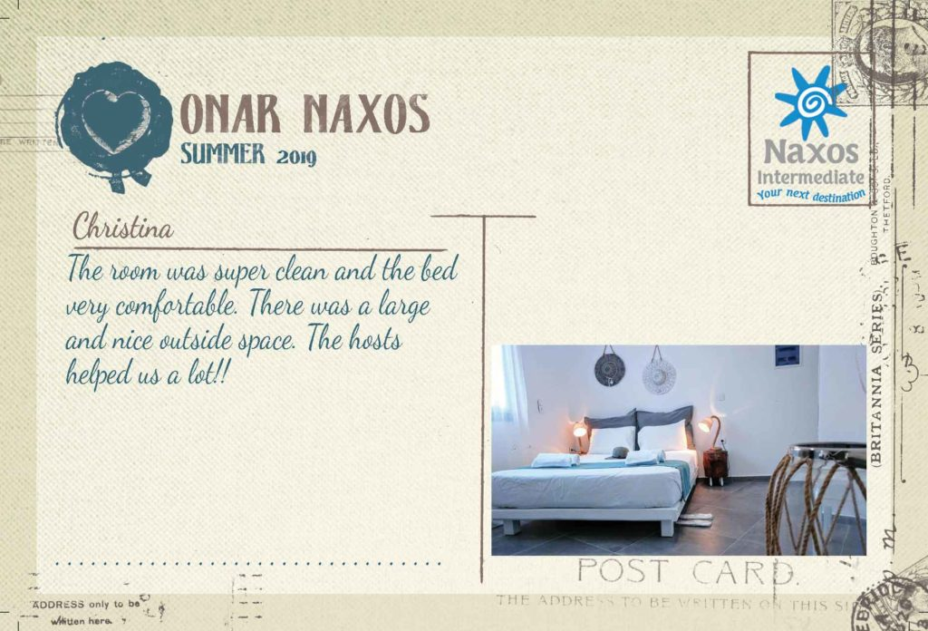 Onar Naxos - 1 Bedroom Apartment