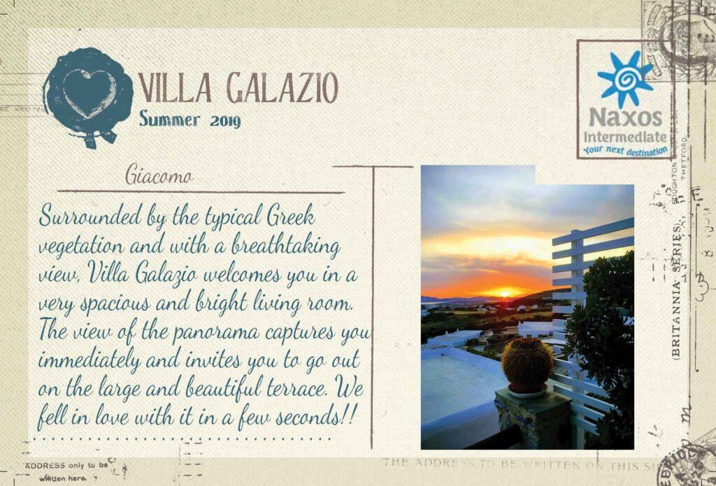 PAROS - Villa Galazio - 3 Bedrooms Villa