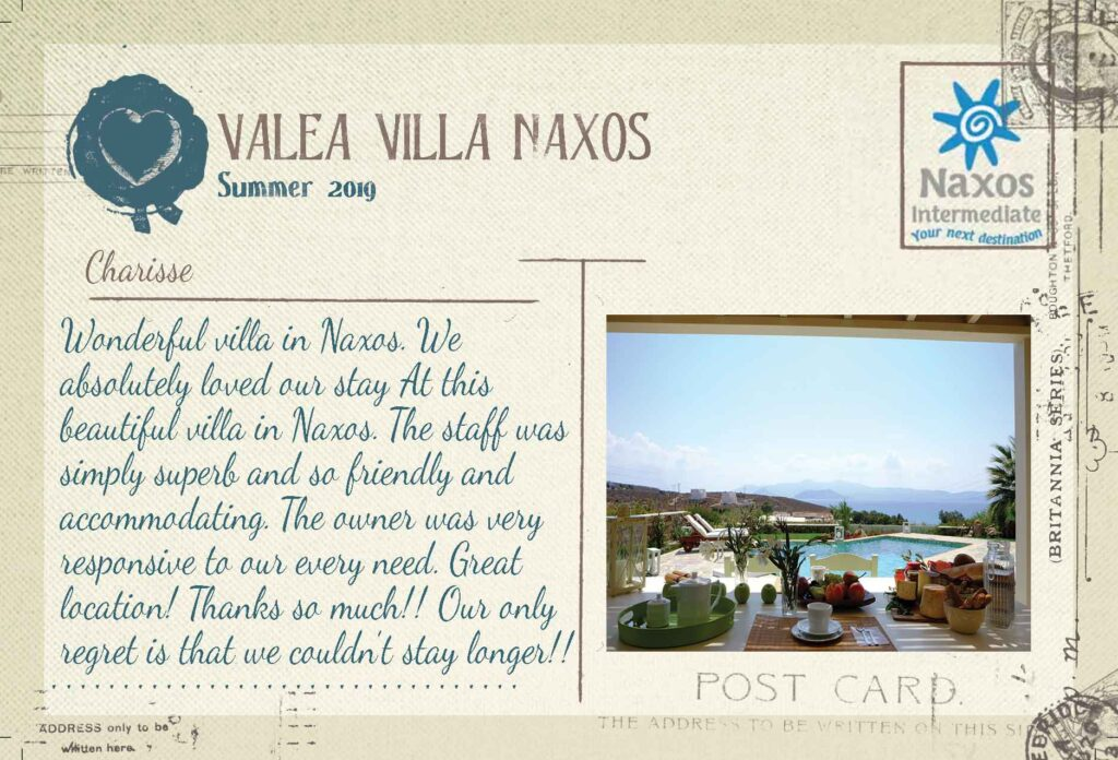 Valea Villa Naxos - Villa con 3 camere e Piscina Privata