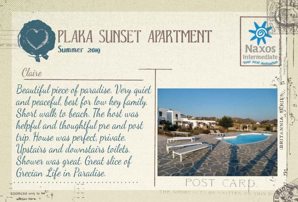 Plaka Sunset Apartment - 1 Bedroom Apartment
