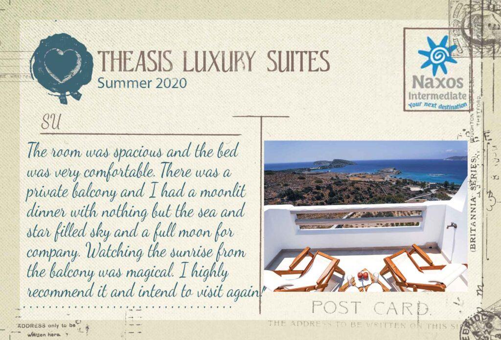 SCHINOUSSA - Theasis Luxury Suites