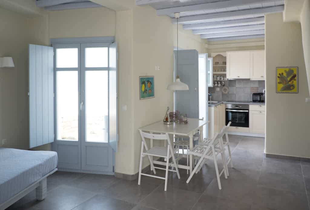 A2 living room and kitchen