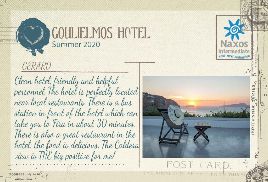SANTORINI - Goulielmos Hotel