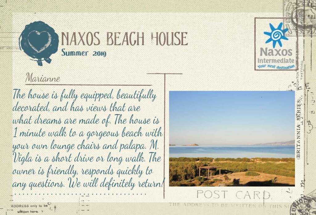 Naxos Beach House - 2 Bedrooms House