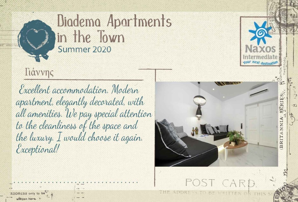 Diadema Apartments in the Town