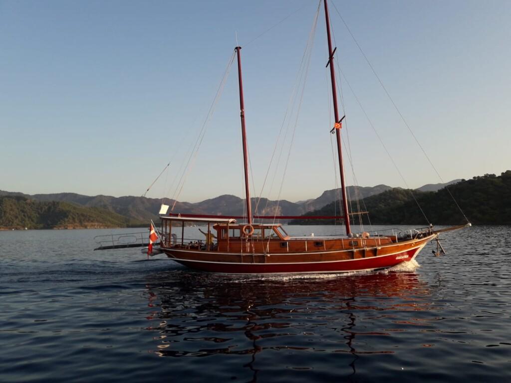 PAROS - Galatea - 2 Cabins Schooner