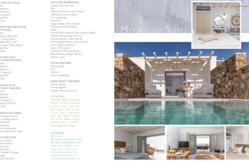 mythology villas description