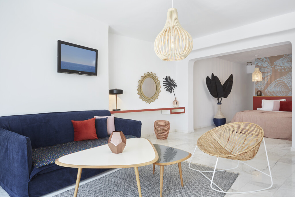 Deluxe jacuzzi suite Kouros Hotel (10)