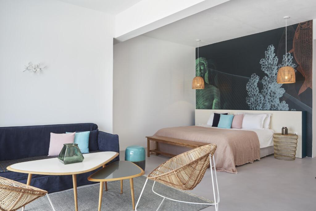 Deluxe jacuzzi suite Kouros Hotel (8)