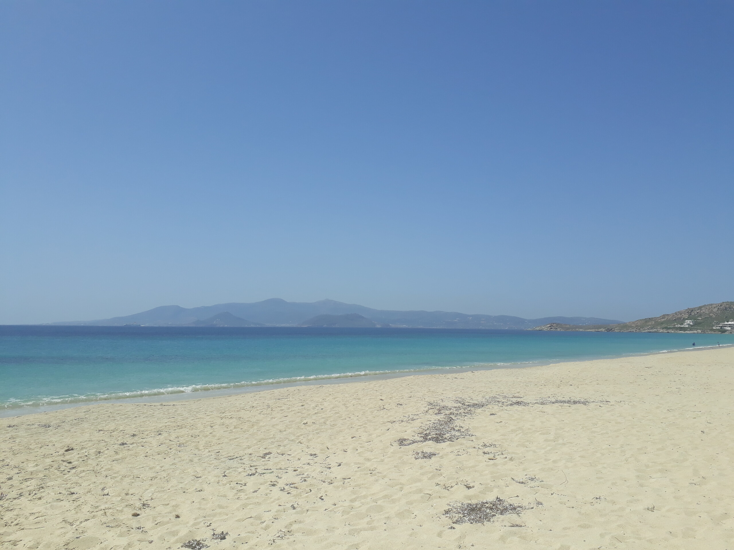 Agios Prokopios – la spiaggia piu' famosa di Naxos