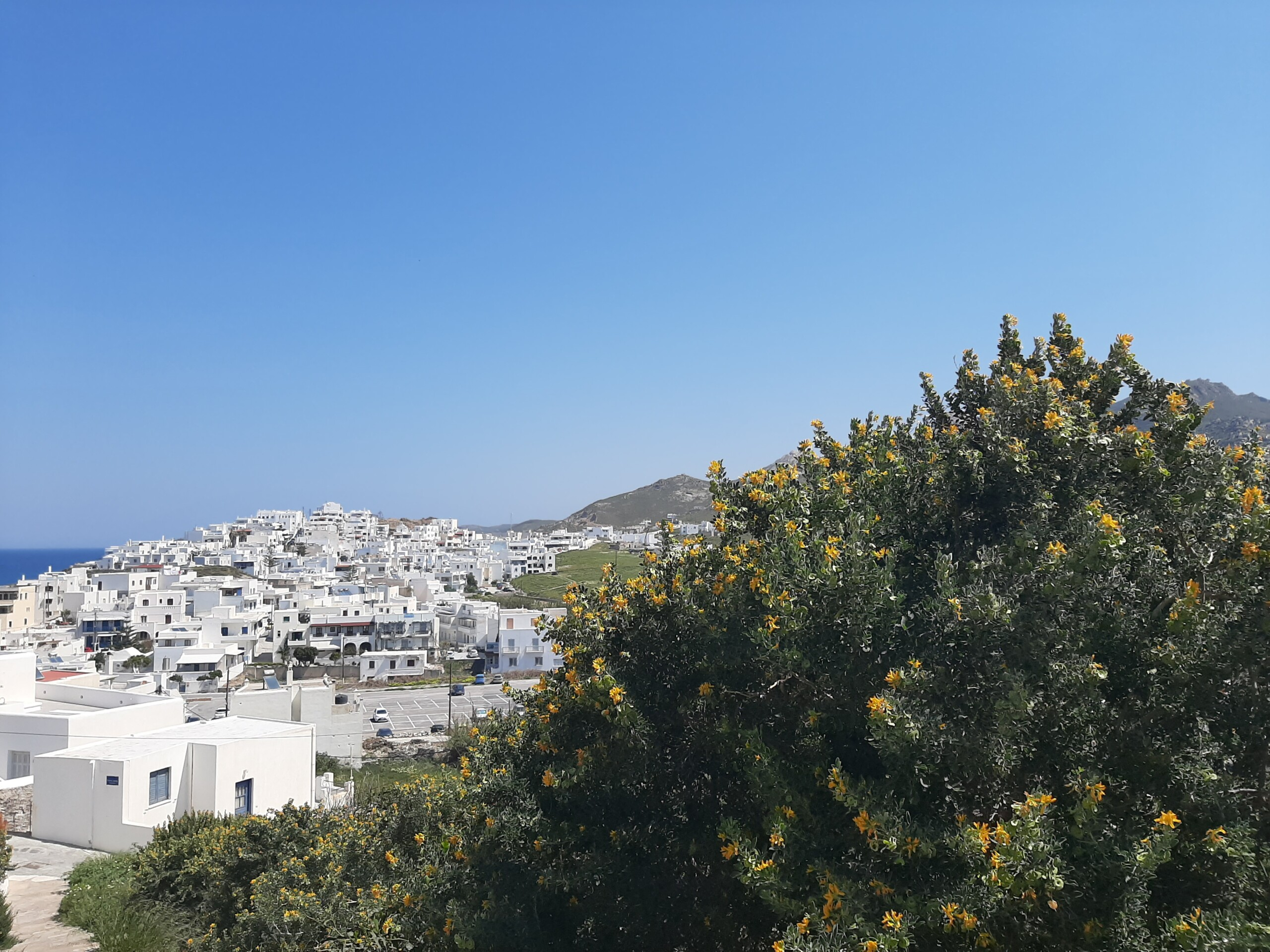 Chora - la capitale di Naxos