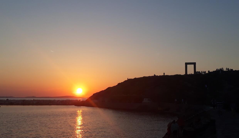 Chora - the capital of Naxos