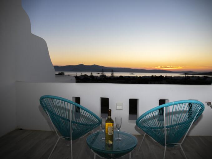 White Nadora Naxos Villa - 2 Bedrooms Villa with Private Pool